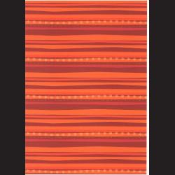 Fotokarton A4 Vločky s pruhy oranžové