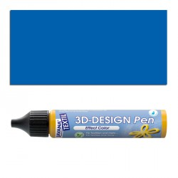 3D nafukovací barva - tmavě modrá