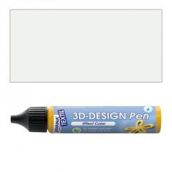 3D nafukovací barva - bílá
