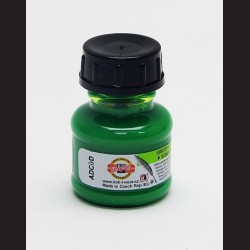 Tuš fluorescenční zelená, 20g