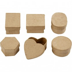 Mini krabička Šestihran
