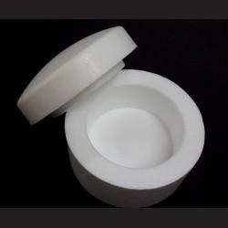 Krabička polystyrenová kulatá