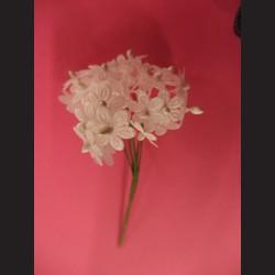 Bílé květiny - svazek, tvarovatelné