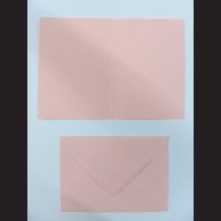Obálka se přáním - světle růžová