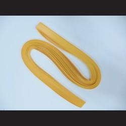 Papírové pásky - žlutá, 3mm x 53 cm, 100 ks