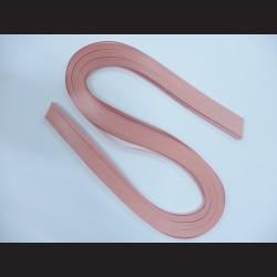 Papírové pásky - světle fialové, 3mm x 53 cm, 100 ks
