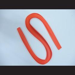Papírové pásky - neonově oranžová, 3mm x 53 cm, 100 ks