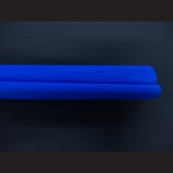 Krepový papír - modrý