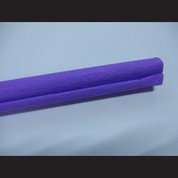 Krepový papír - fialový