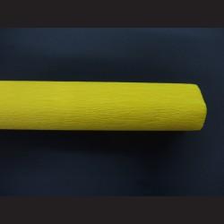 Krepový papír - žlutý
