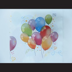 Ubrousek - balónky