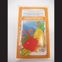 Potravinářská barva na vejce - oranžová