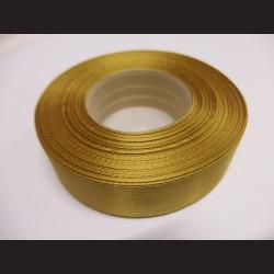 Stuha atlasová - olivová, 25 mm