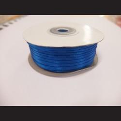 Stuha atlasová - královsky modrá, 3 mm