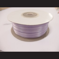 Stuha atlasová - světle fialová, 3 mm
