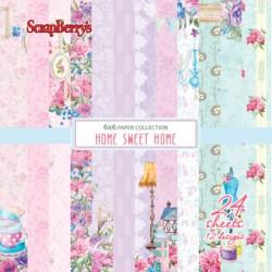 Scrapbooková sada - Home Sweet Home, 15x15