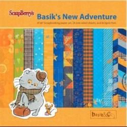 Scrapbooková sada - Basik's New Adventure, 15x15
