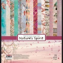 Scrapbooková sada - Nature's Spirit, 30,5 x 30,5
