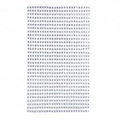Krystaly samolepící - krystal - 3mm, 806 ks
