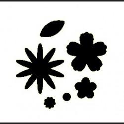 Raznice - květy, 6,3 cm