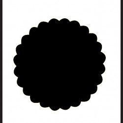 Raznice - kolo ozdobné, 2,5 cm