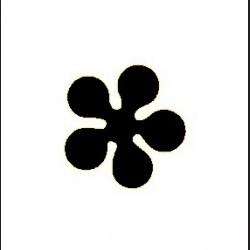Raznice - květ C, 1,6 cm