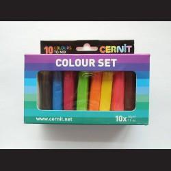 Sada Cernit - colour set, 10x30g, 10 barev
