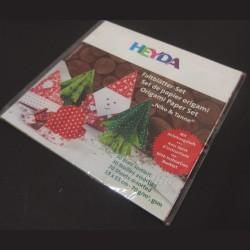 Sada origami papírů Vánoční