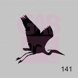 Plastová šablona - volavka, 141