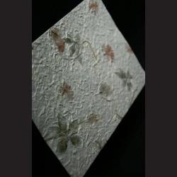 Ruční papír morušový s listy bambusu