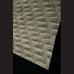 Ruční papír morušový s pruhy