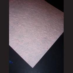 Ruční papír morušový s hrubou texturou, zelený
