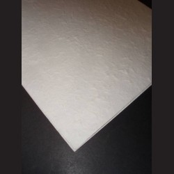 Ruční papír morušový s hrubou texturou, růžový
