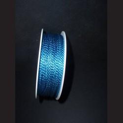 Kroucený provázek modrý 2 mm