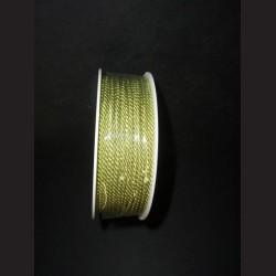 Kroucený provázek - světle zelený, 2 mm