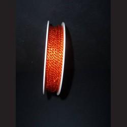 Kroucený provázek - oranžový, 2 mm