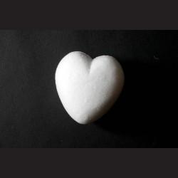 Polystyrenové srdce 6 x 6 cm