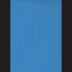 Vlnitá lepenka A4 Středně modrá