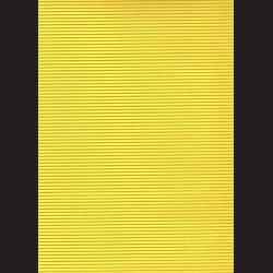 Vlnitá lepenka - citrónová, A4