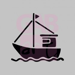 Plachetnice  - šablona 085
