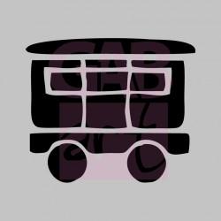 Vagon osobní  - šablona 089