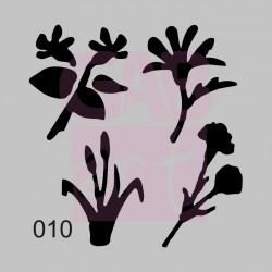 Jarní kytky  - šablona 010