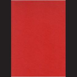 Červený filc A3, 3 mm