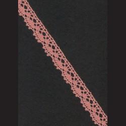 Krajka starorůžová č. 1, š. 16 mm