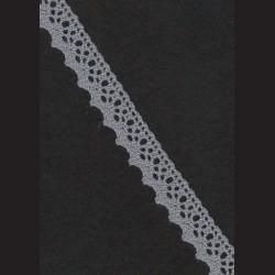 Krajka šedá č. 2, š. 18 mm