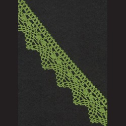 Krajka zelená č. 2, š. 32 mm
