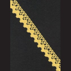 Krajka žlutá č. 1, š. 21 mm