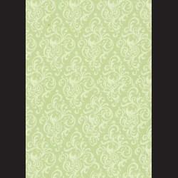 Karton světle zelený -  ornament č. 1