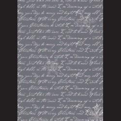 Karton tmavě modrý - písmo č. 3