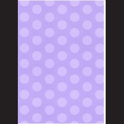 Fotokarton A4 Puntíky fialové